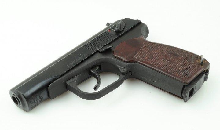 Пневматичний пістолет МР-658К Blowback (бакелітова ручка) - зображення 1