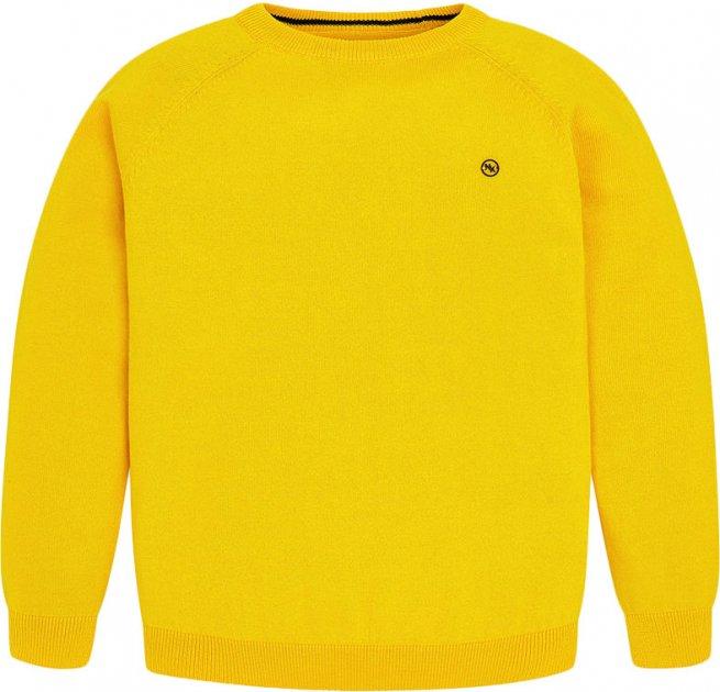 Джемпер Mayoral Boy 356-59 14A Жовтий (2900356059142) - зображення 1