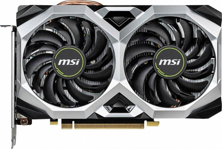 MSI PCI-Ex GeForce RTX 2060 Ventus XS 6G OC 6GB GDDR6 (192bit) (1710/14000) (3 x DisplayPort, 1 x HDMI) (GeForce RTX 2060 VENTUS XS 6G OC) - зображення 1