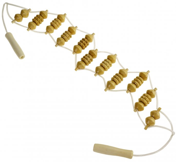 Стрічковий роликовий масажер для спини Supretto (5952-0001) - зображення 1