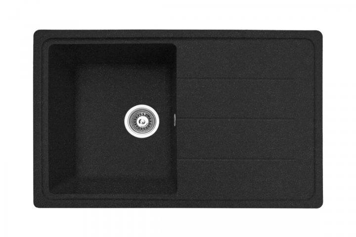 Плита гранітна мийка ARKANA №024 780Х500 Колір чорний Omni Будинок - зображення 1