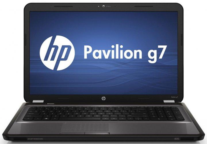 Ноутбук HP Pavilion G7-2254so-AMD A8-4500M-1.9GHz-4Gb-DDR3-320Gb-HDD-W17.3-Web-DVD-R-(B-)- Б/В - зображення 1