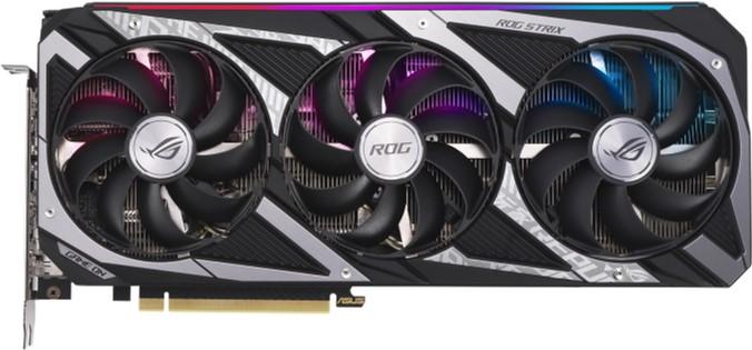 Asus PCI-Ex GeForce RTX 3060 ROG Strix Gaming 12GB GDDR6 (192bit) (2 x HDMI, 3 x DisplayPort) (ROG-STRIX-RTX3060-12G-GAMING) - зображення 1