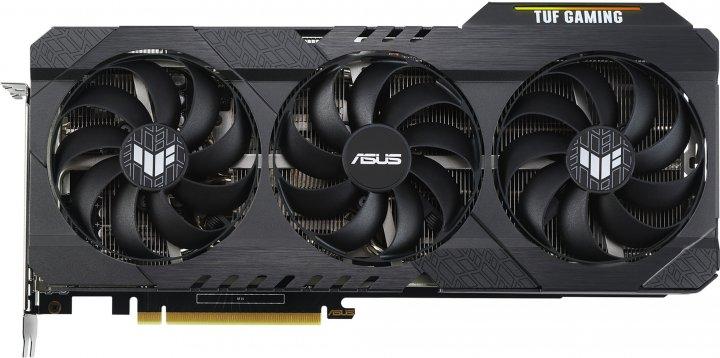 Asus PCI-Ex GeForce RTX 3060 TUF Gaming 12GB GDDR6 (192bit) (2 x HDMI, 3 x DisplayPort) (TUF-RTX3060-12G-GAMING) - зображення 1