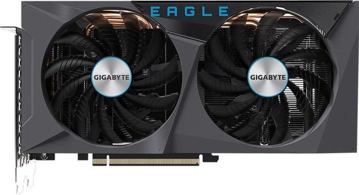 Gigabyte PCI-Ex GeForce RTX 3060 Eagle OC 12G 12GB GDDR6 (192bit) (15000) (2 х HDMI, 2 x DisplayPort) (GV-N3060EAGLE OC-12GD) - зображення 1