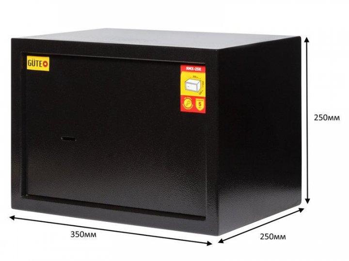 Мебельный сейф Güte ЯМХ 25К черный - изображение 1
