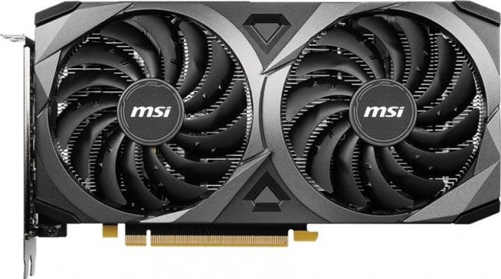 MSI PCI-Ex GeForce RTX 3060 Ventus 2X 12G OC 12GB GDDR6 (192bit) (1807/15000) (HDMI, 3 x DisplayPort) (RTX 3060 VENTUS 2X 12G OC) - зображення 1