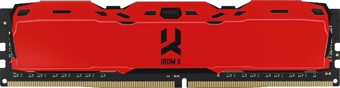 Оперативна пам'ять Goodram DDR4-3000 16384 MB PC4-24000 IRDM X Red (IR-XR3000D464L16/16G) - зображення 1