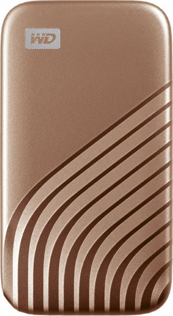 Western Digital My Passport 500GB USB 3.2 Type-C Gold (WDBAGF5000AGD-WESN) External - зображення 1