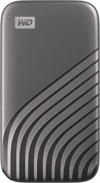 Western Digital My Passport 1TB USB 3.2 Type-C Space Gray (WDBAGF0010BGY-WESN) External - зображення 1