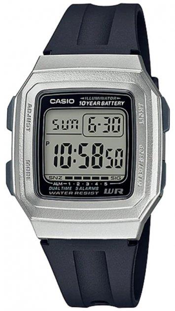 Чоловічі годинники Casio F-201WAM-7AVEF - зображення 1