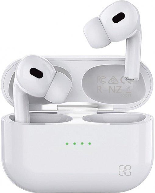TWS-навушники Promate Harmoni Bluetooth 5 White (harmoni.White) - зображення 1