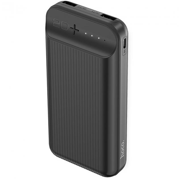 """Пауэрбанк портативное зарядное устройство Power Bank Hoco J52A """"New Joy"""" 20000 mAh Черный - изображение 1"""