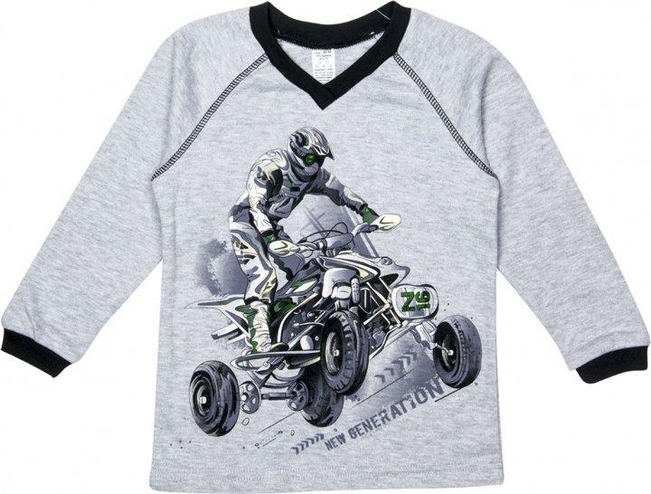 Пуловер Z16 3ІН108-4 (2-130) 152 см Сірий (31010842130152) - зображення 1
