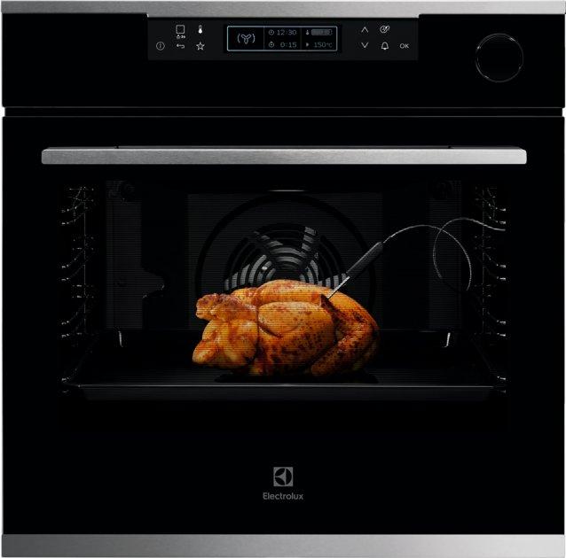 Духовой шкаф электрический ELECTROLUX OKC8H31X - изображение 1