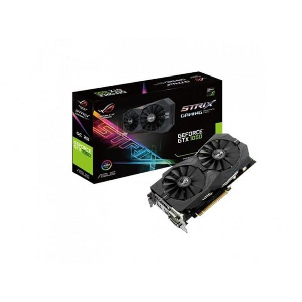 Відеокарта ASUS GeForce GTX1050 2048Mb ROG STRIX OC GAMING (STRIX-GTX1050-O2G-GAMING) - зображення 1