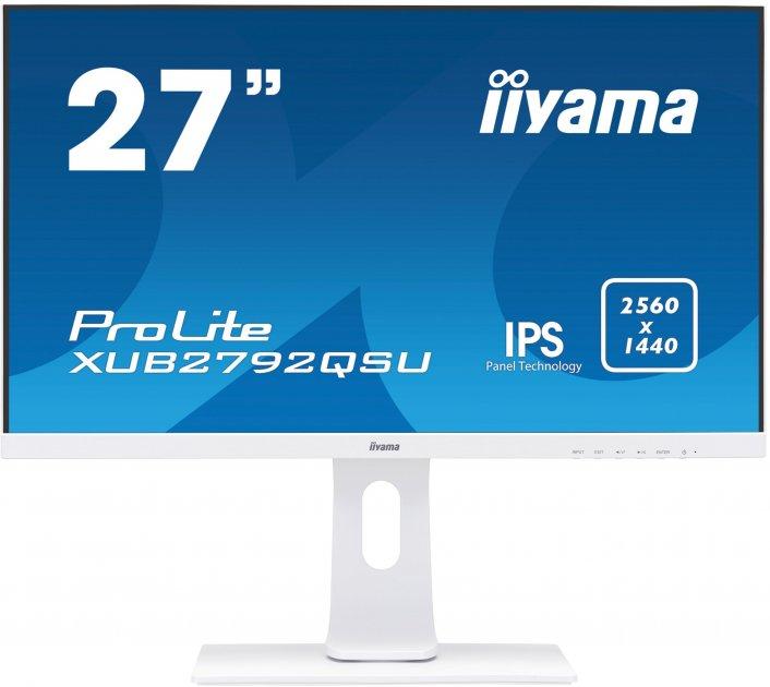 Монітор IIYAMA XUB2792QSU-W1 A /С (XUB2792QSU-W1 A /С) - зображення 1