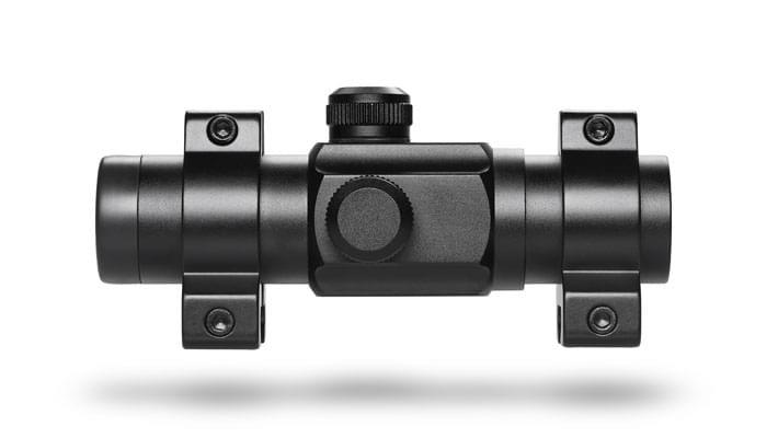 Коліматорний приціл Hawke Red Dot 1x25 9-11mm (12110) - зображення 1