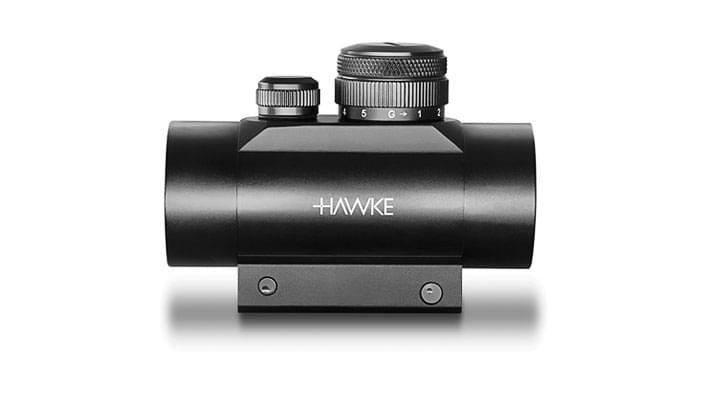 Коліматорний приціл Hawke Red Dot 1x30 Weaver (12121) - зображення 1