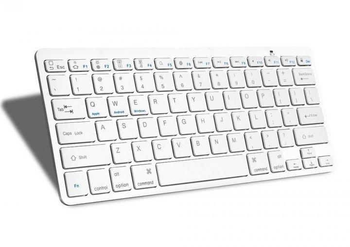 Бездротова клавіатура bluetooth keyboard Спартак BK3001 X5 - зображення 1