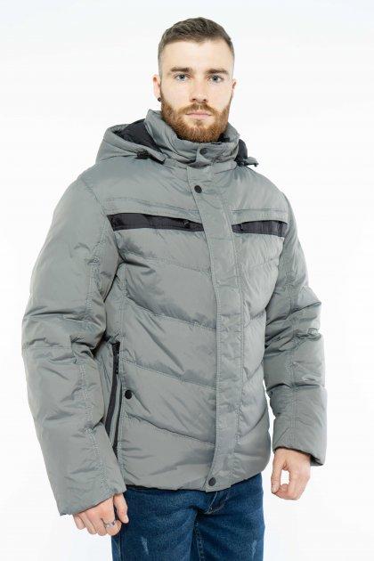 Куртка Time of Style 157P131104 56 Серо-черный - изображение 1