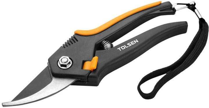 Секатор Tolsen 200 мм PP/TPR рукоятки (31021) - изображение 1