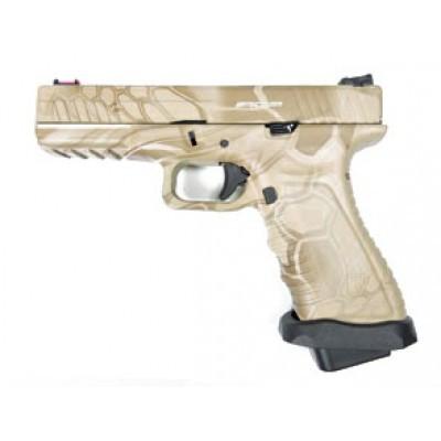 Пістолет APS Action Combat Pistol CO2 Kryptek Highlander (Страйкбол 6мм) - зображення 1