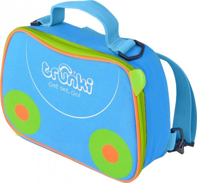 Сумка-рюкзак для сендвічів Trunki 3.5 л Блакитна із салатовими вставками (0288-GB01) - зображення 1