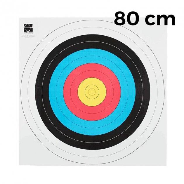 """Мішень JVD """"Fita"""" 80 (10 штук) - зображення 1"""