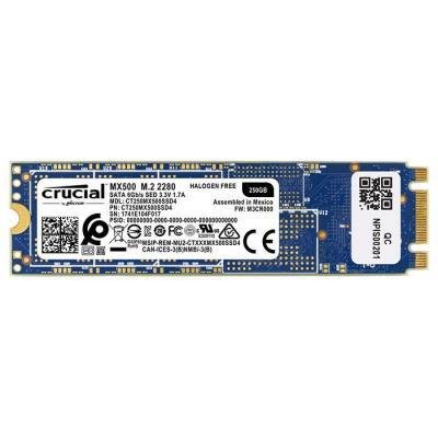 Накопитель SSD M.2 2280 250GB MICRON (CT250MX500SSD4) - зображення 1