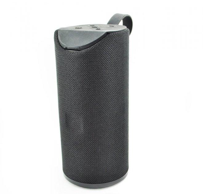 Портативна bluetooth колонка вологостійка T&G 113 чорна - зображення 1
