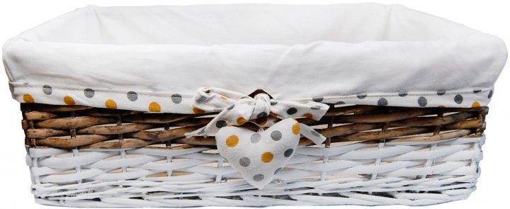 Кошик Natural House плетений Родзинка 48 х 33 х 16 см (FB-40L) - зображення 1