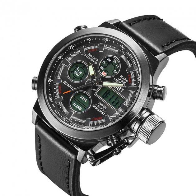 Мужские армейские Часы AMST AM3003 Black - изображение 1