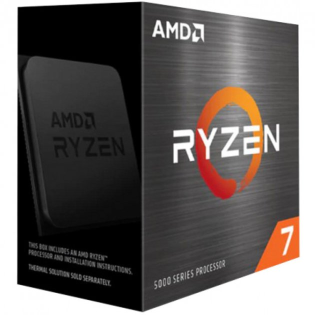 Процесор AMD Ryzen 7 5800X 3.8 GHz/32MB (100-100000063WOF) sAM4 BOX - зображення 1