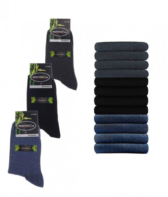 Набор мужских носков Монтекс Life 40-45 12 пар Разноцветные - изображение 1