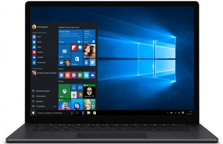 Ноутбук Microsoft Surface Laptop 3 (VFP-00001) Matte Black - изображение 1