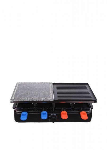Раклет-гриль QUIGG чорний L11-280592 - зображення 1