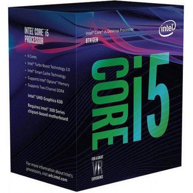 Процесор Intel Core i5 8600K 3.6 GHz (9MB, Coffee Lake, 95W, S1151) Box (BX80684I58600K) no cooler - зображення 1