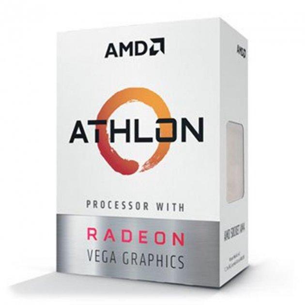 Процесор Athlon 200GE 3.2 GHz (4MB, Raven Ridge, 35W, AM4) Box (YD200GC6FBBOX) - зображення 1