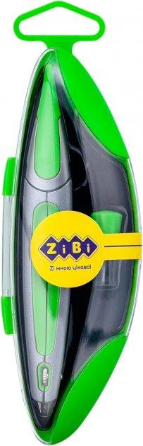 Циркуль ZiBi Start Ergo в футляре с запасным грифелем Салатовый (ZB.5350ES-15) - изображение 1