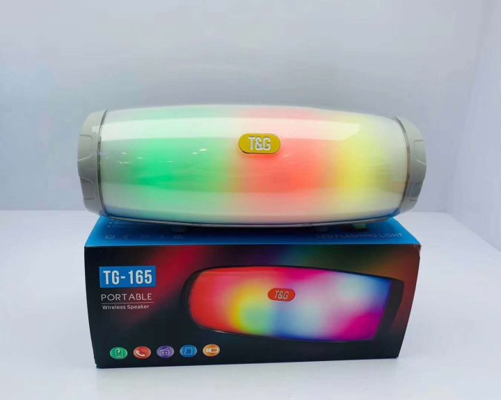 Портативная Bluetooth колонка T&G 165 (Gray) - изображение 1