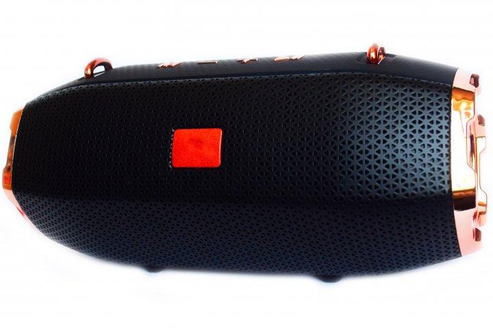Портативна Bluetooth стерео колонка T&G Xtreme c USB і MicroSD Чорна (R13 Black) - зображення 1