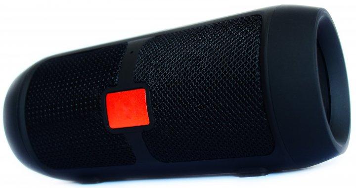 Портативна бездротова Bluetooth стерео колонка T&G Charge mini c USB і MicroSD Чорна (006 Black) - зображення 1