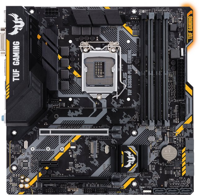 Материнская плата Asus TUF B365M-Plus Gaming (s1151, Intel B365M, PCI-Ex16) - изображение 1