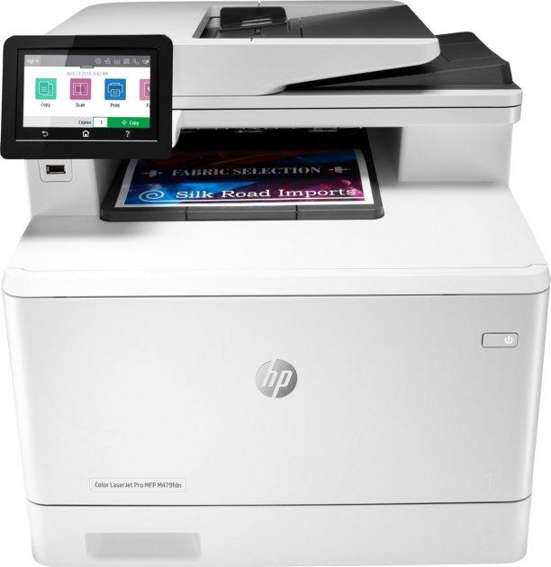 HP Color LaserJet Pro M479fdn, fax, duplex, ethernet, DADF (W1A79A) - зображення 1