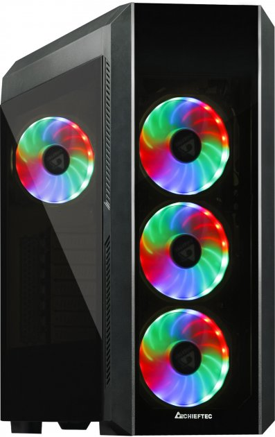 Корпус Chieftec Gaming Scorpion III Tempered Glass Edition (GL-03B-OP) - зображення 1
