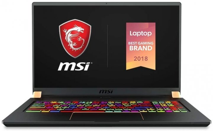 Ноутбук MSI GS75 10SF STEALTH (GS7510SF-036US) MATTE BLACK GOLD DIAMOND CUT - зображення 1