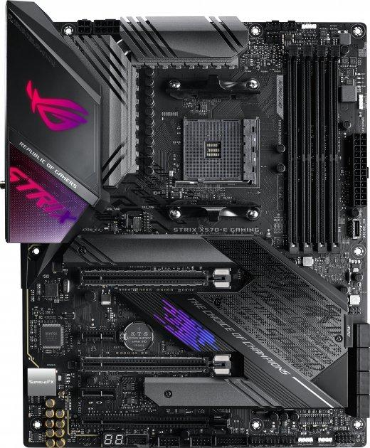Материнська плата Asus ROG Strix X570-E Gaming (sAM4, AMD X570, PCI-Ex16) - зображення 1