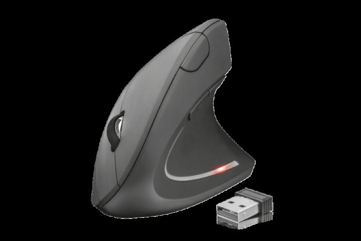 Эргономичная вертикальная беспроводная мышь Trust Verto Wireless Ergonomic Mouse(22879) - изображение 1