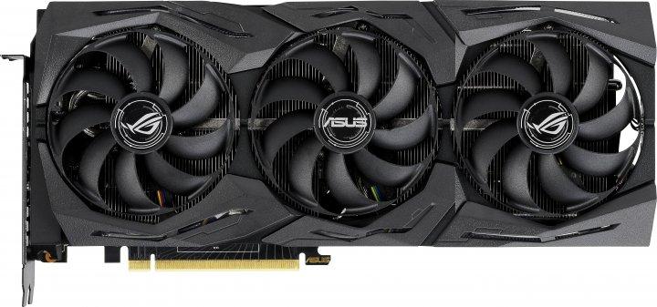 Asus PCI-Ex GeForce RTX 2070 Super ROG Strix OC 8GB GDDR6 (256bit) (1605/14000) (USB Type-C, 2 x HDMI, 2 x DisplayPort) (ROG-STRIX-RTX2070S-O8G-GAMING) - зображення 1